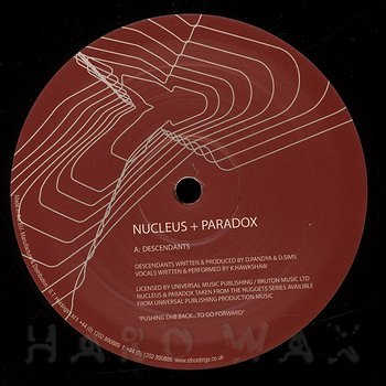 Cover art - Nucleus & Paradox: Descendants