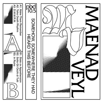 Cover art - Maenad Veyl: Somehow, Somewhere They Had Heard This Before