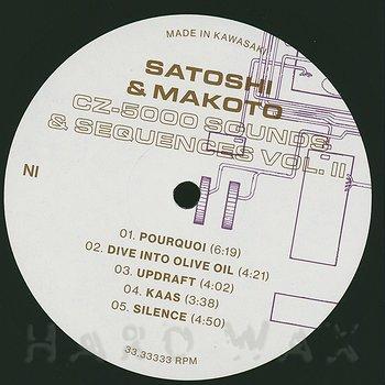 Cover art - Satoshi & Makoto: CZ-5000 Sounds & Sequences Vol. II