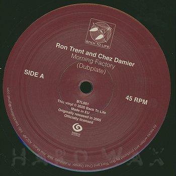 Cover art - Ron Trent & Chez Damier: Morning Factory (Dubplate)