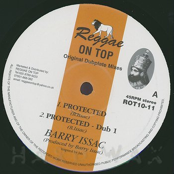 Cover art - Barry Issac: Protected