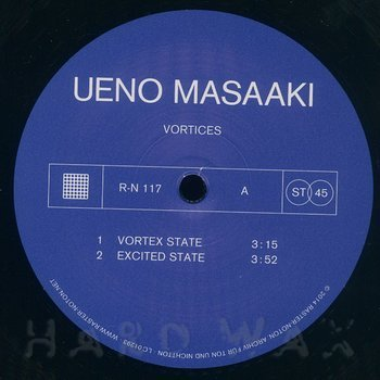 Cover art - Ueno Masaaki: Vortices