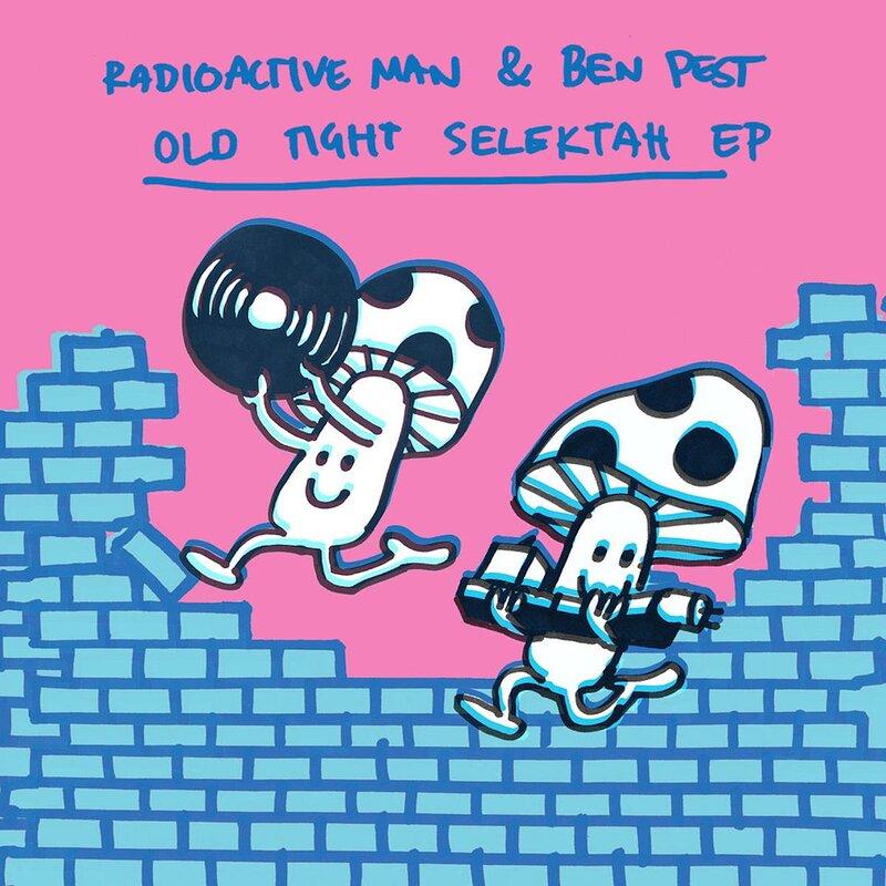 Cover art - Radioactive Man & Ben Pest: Old Tight Selektah EP