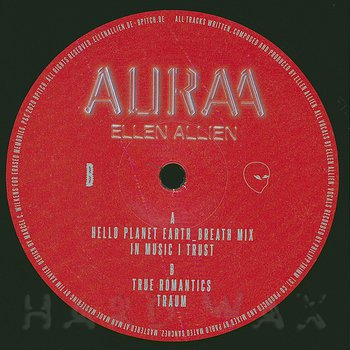 Cover art - Ellen Allien: Auraa