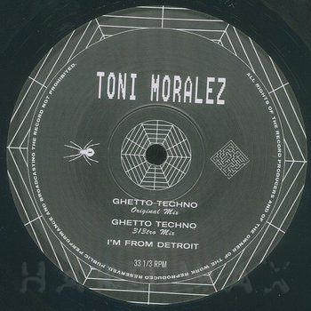 Cover art - Toni Moralez: Ghetto Techno