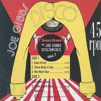 Cover art - Dennis Brown: The Joe Gibbs Discomixes Vol. 1