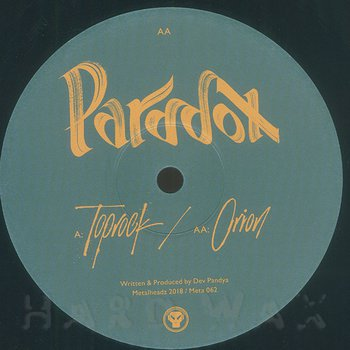 Cover art - Paradox: Toprock