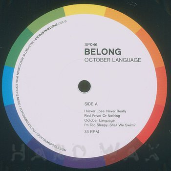 Cover art - Belong: October Language