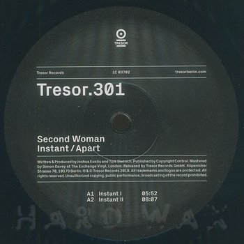 Cover art - Second Woman: Instant / Apart