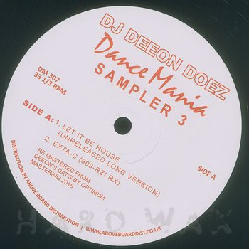 Cover art - DJ Deeon: Doez Dance Mania Sampler 3