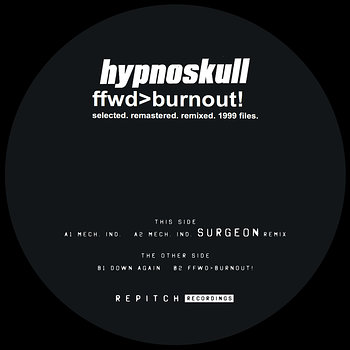 Cover art - Hypnoskull: Ffwd>Burnout!