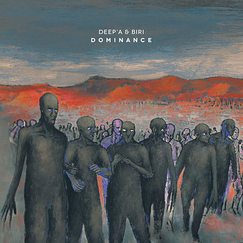Cover art - Deep'a & Biri: Dominance