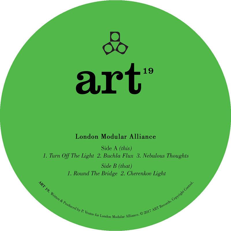 Cover art - London Modular Alliance: Turn Off The Light EP