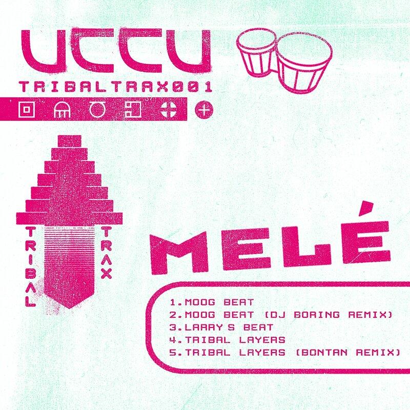 Cover art - Melé: Tribal Trax