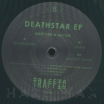 Cover art - Martyné & Jacob: Deathstar EP