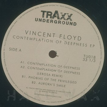 Cover art - Vincent Floyd: Contemplation Of Deepness EP