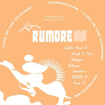 Cover art - Rumore: Life In The Cloud EP