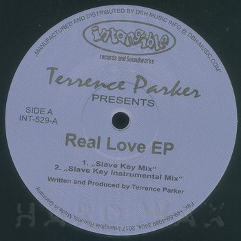 Cover art - Terrence Parker: Real Love