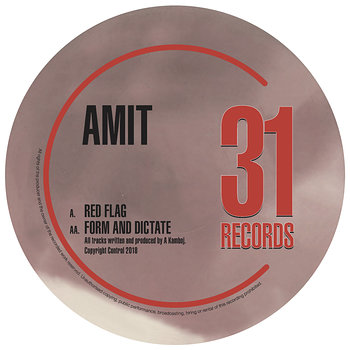 Cover art - Amit: Red Flag