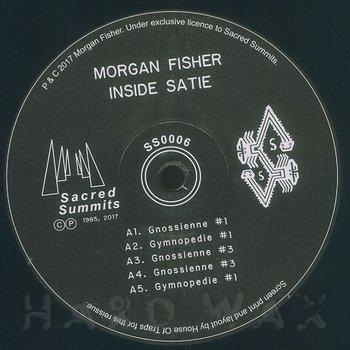 Cover art - Morgan Fisher: Inside Satie