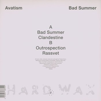 Cover art - Avatism: Bad Summer