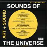 Cover art - Various Artists: Sounds Of The Universe (Art + Sound) - Record A