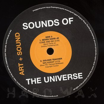 Cover art - Various Artists: Sounds Of The Universe (Art + Sound) - Record B
