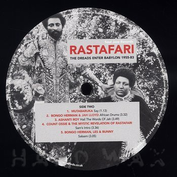 Cover art - Various Artists: Rastafari (The Dreads Enter Babylon 1955-83)