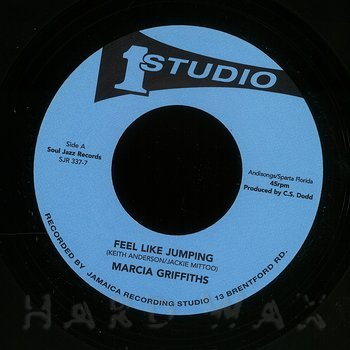 Cover art - Marcia Griffiths: Feel Like Jumping