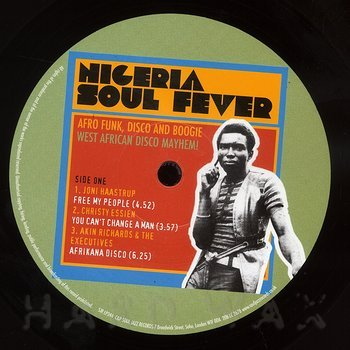 Cover art - Various Artists: Nigeria Soul Fever