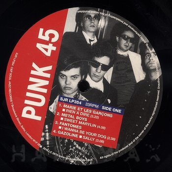 Cover art - Various Artists: Les Punks: The French Connection