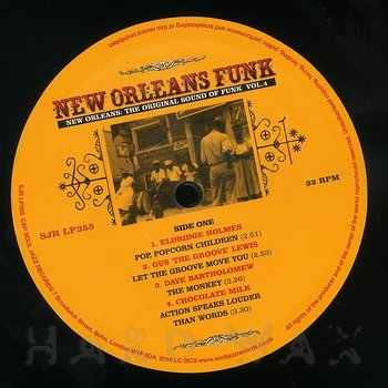 Cover art - Various Artists: New Orleans Funk Vol. 4