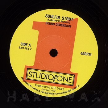 Cover art - Sound Dimension: Soulful Strut
