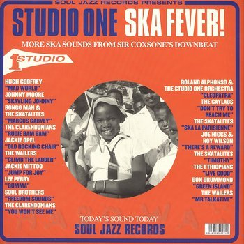 Cover art - Various Artists: Studio One Ska Fever