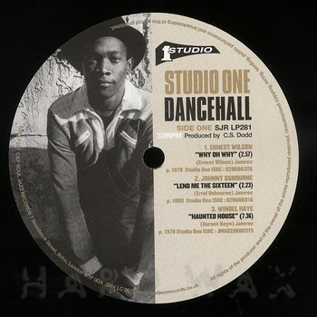 Cover art - Various Artists: Studio One Dancehall