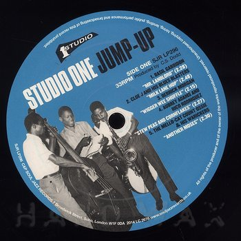 Cover art - Various Artists: Studio One Jump-Up