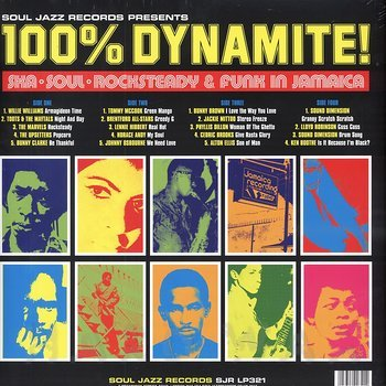 Cover art - Various Artists: 100% Dynamite!
