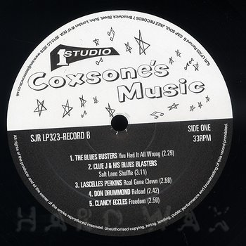 Cover art - Various Artists: Coxsone's Music - Record B