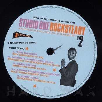 Cover art - Various Artists: Studio One Rocksteady Volume 2