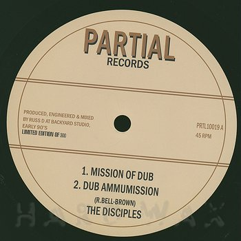 Cover art - The Disciples: Mission of Dub