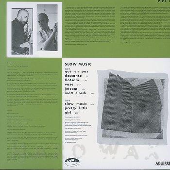Cover art - Lol Coxhill & Morgan Fisher: Slow Music