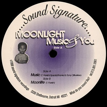 Cover art - Theo Parrish: Moonlight Music & You