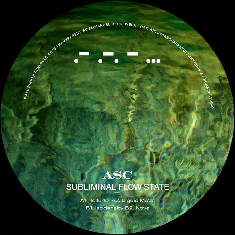 Cover art - ASC: Subliminal Flow State
