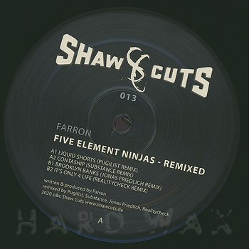 Cover art - Farron: Five Element Ninjas - Remixed