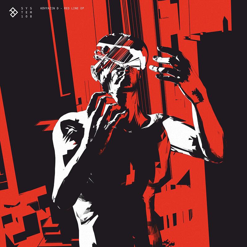 Cover art - Kovyazin D: Red Line EP
