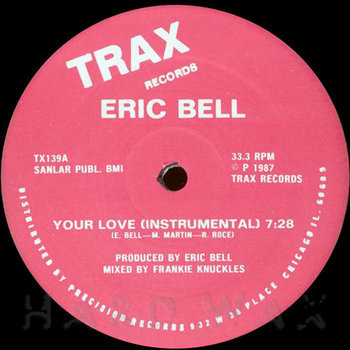 Cover art - Eric Bell: Your Love