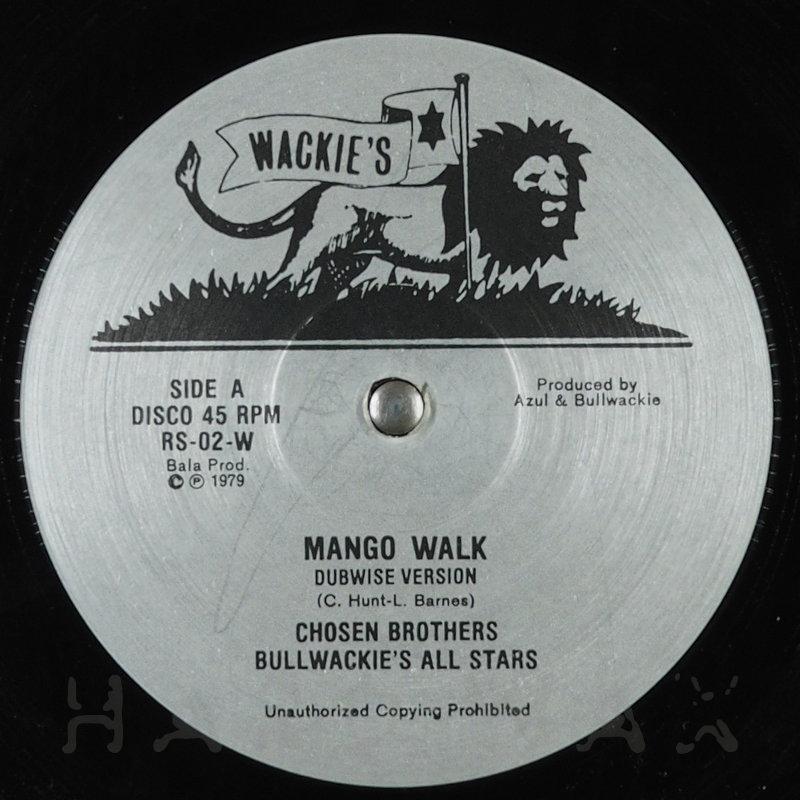 Cover art - Chosen Brothers: Mango Walk