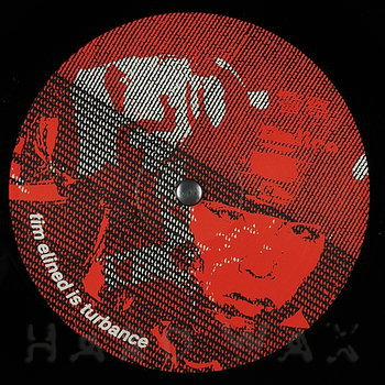 Cover art - The Exaltics Feat. Paris The Black Fu: Dis turb ance int he tim eline
