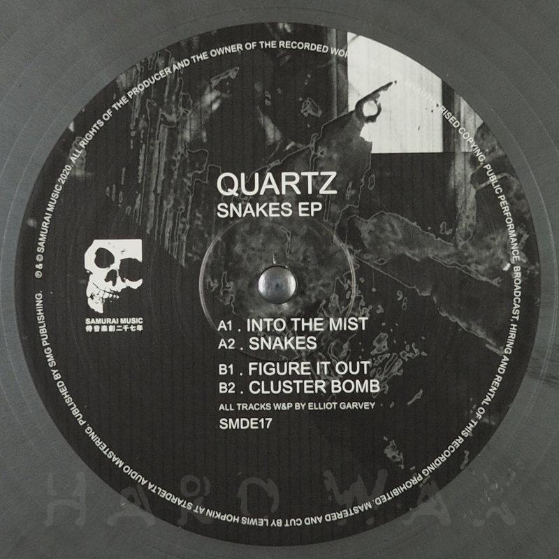 Cover art - Quartz: Snakes