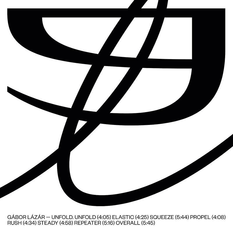 Cover art - Gábor Lázár: Unfold